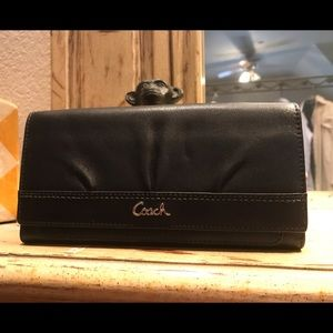 NWT Coach wallet Slim Envelope black